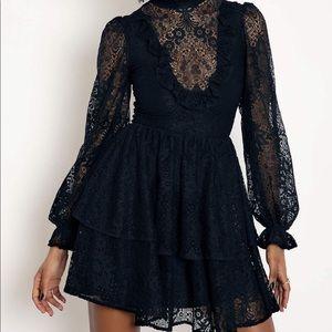 Immortal lace tier dress